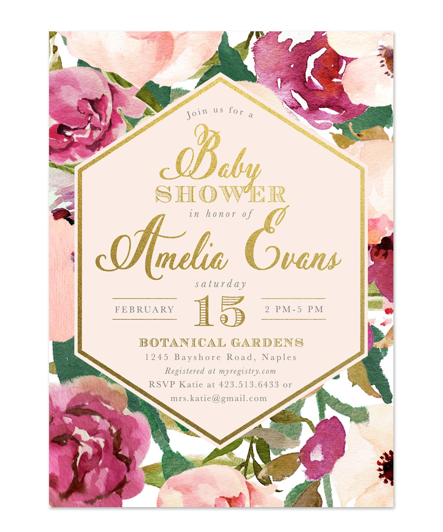 designs templates invitation x dimensions regarding baby invitations gold and ba showers design pink shower