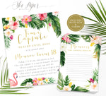 Maya Time Capsule Sign & Cards {Gold}