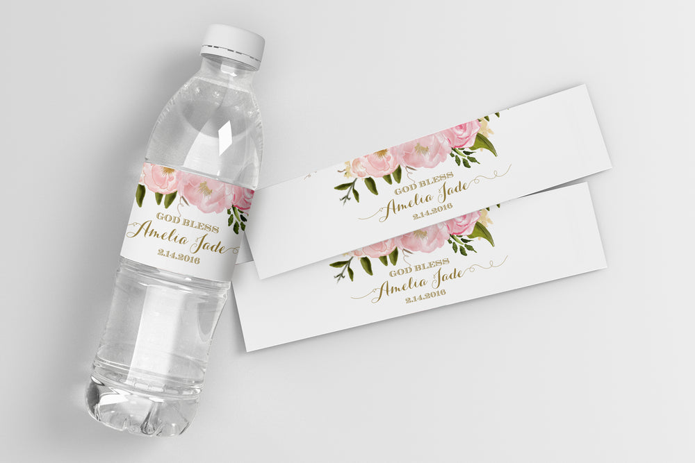 Grace: Water Bottle Label