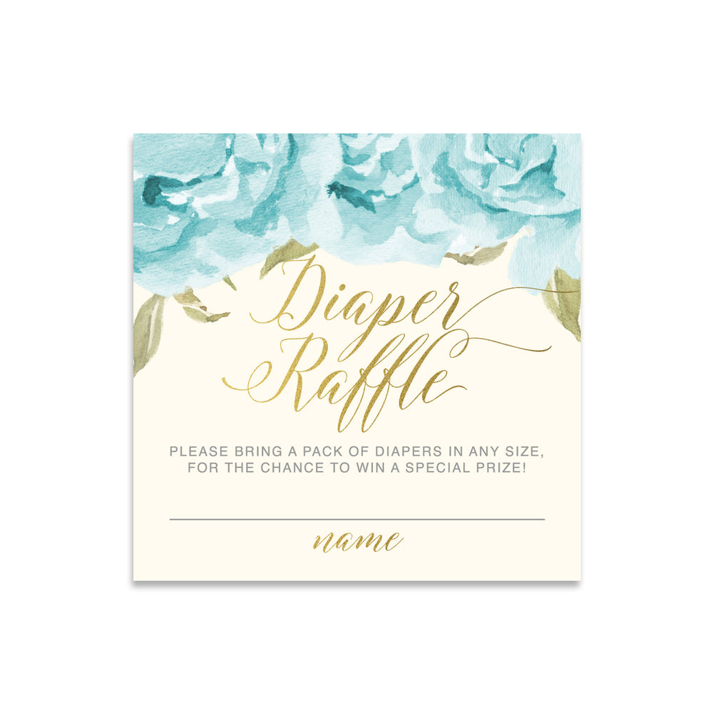 Henley: Diaper Raffle Enclosure Card
