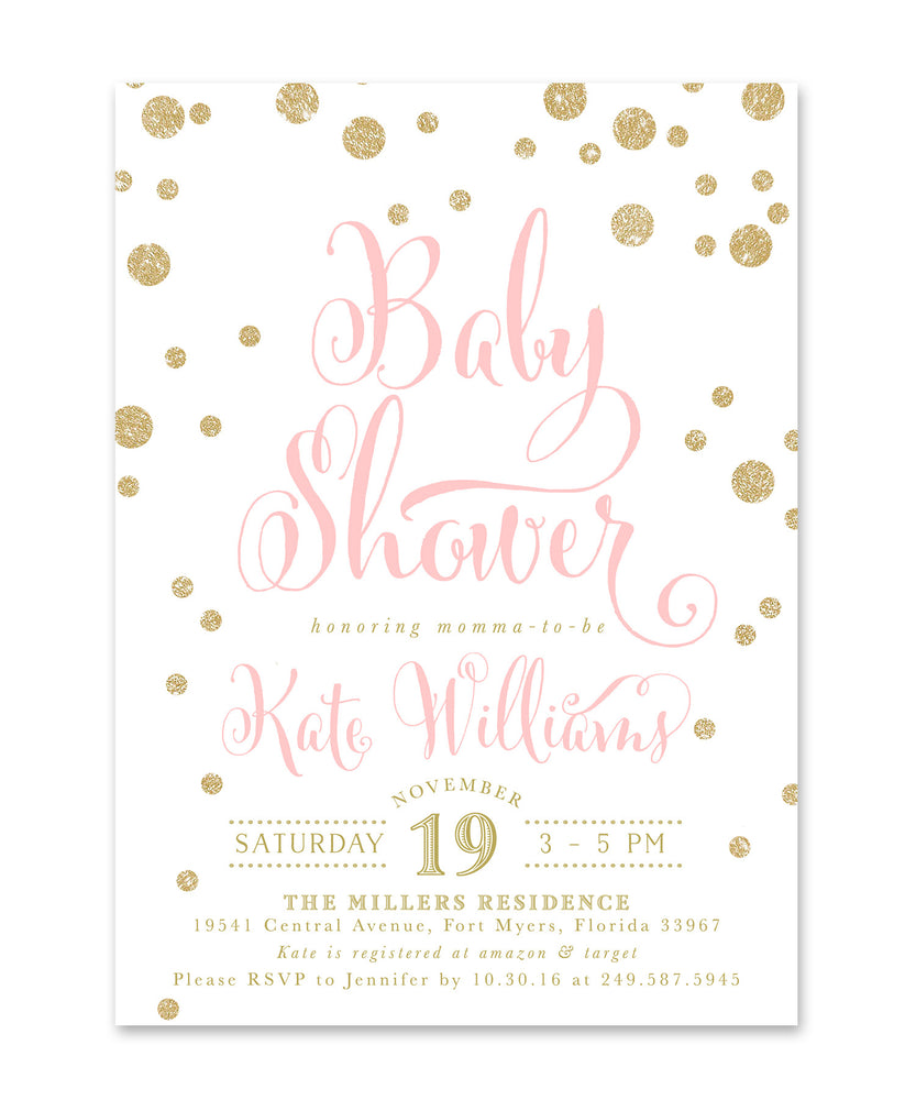 Kate: Baby Shower Invitation