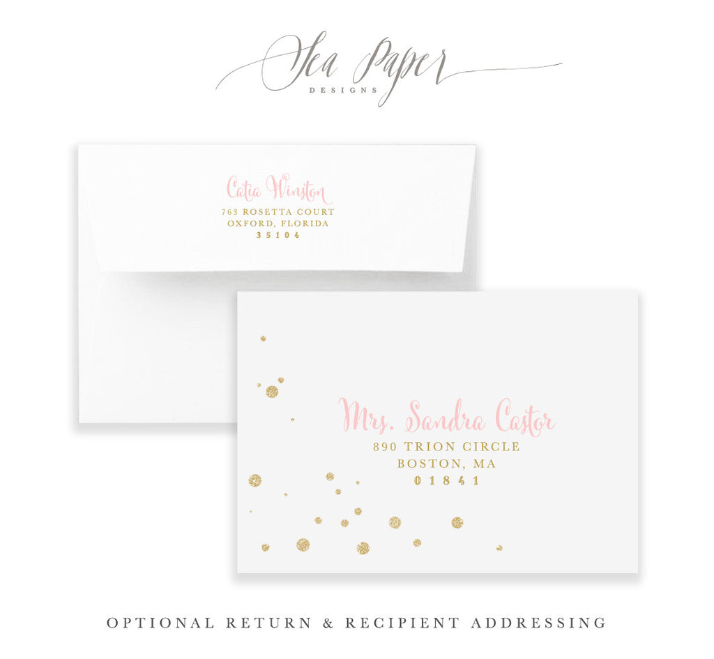 Kate: Bridal Shower Invitation
