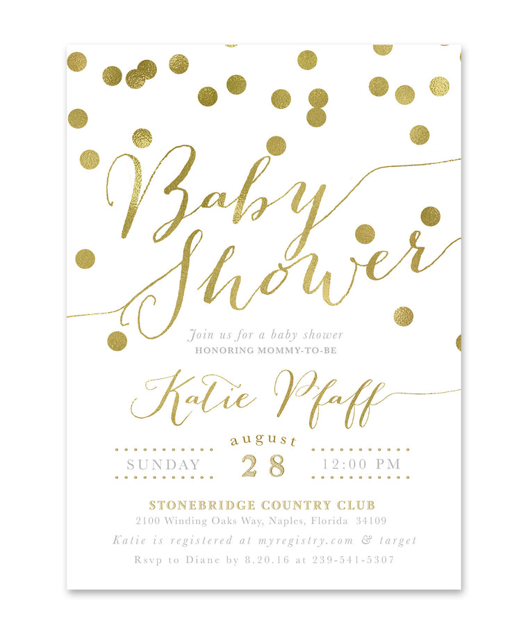 Katie: Baby Shower Invitation