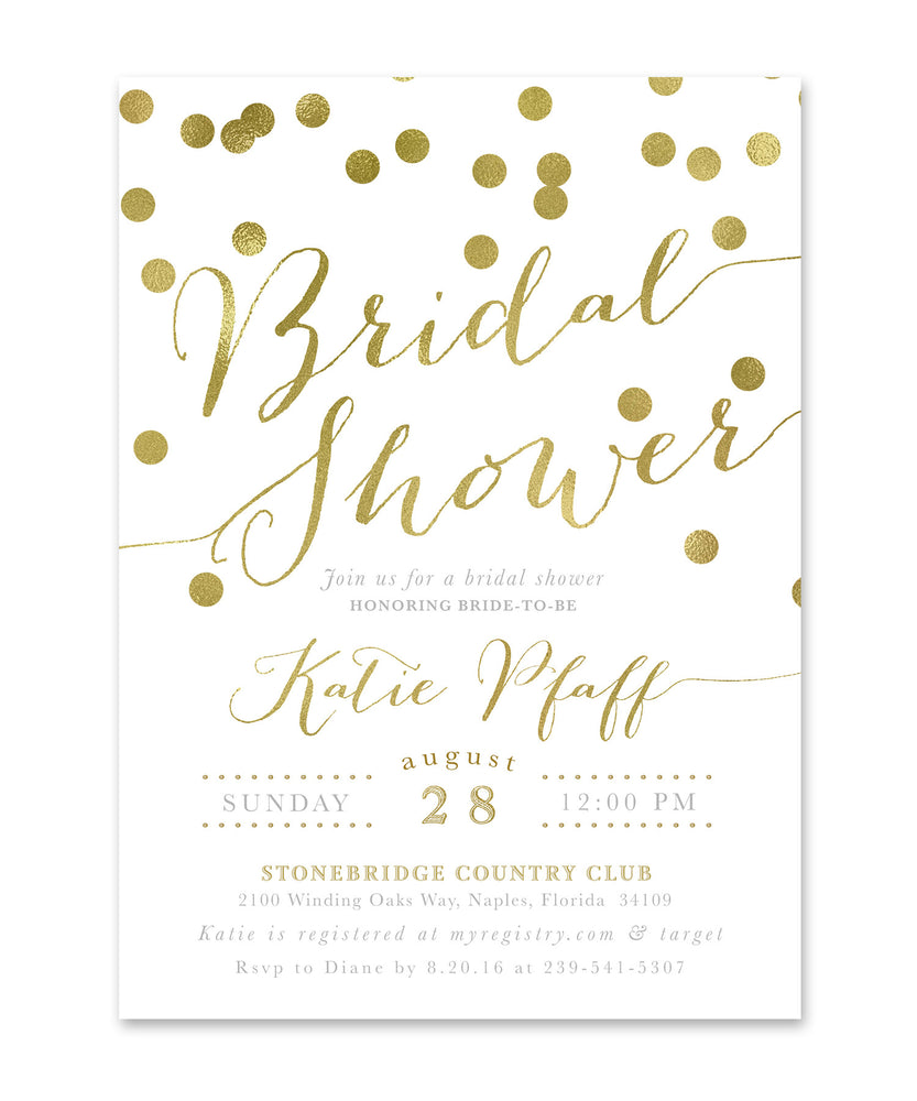 Katie: Bridal Shower Invitation