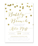 Katie: Bubbly & Brunch Invitation