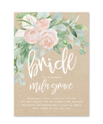 Mila: Kraft Bridal Shower