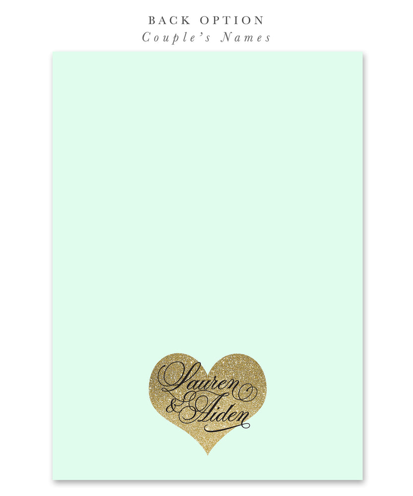 Lauren: Bridal Shower {Mint}