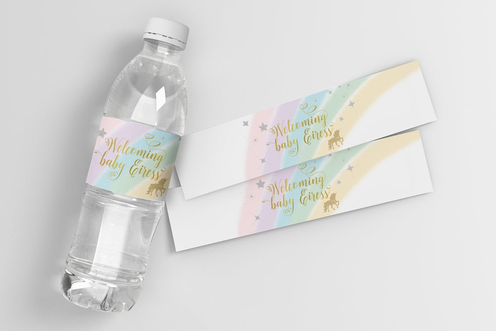 Leah: Water Bottle Label