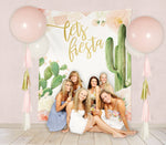Carrie: Let's Fiesta Party Backdrop