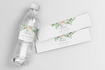 Mila: Water Bottle Label {White}