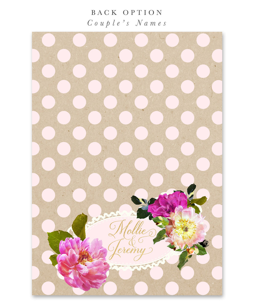 Mollie: Bridal Shower Invitation