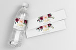 Odette: Water Bottle Label {Gold}