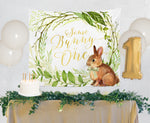 Penny: Bunny and Greenery Backdrop