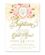 Opal: Baptism Invitation