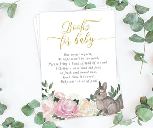 Penny: Books for Baby Cards {Floral}