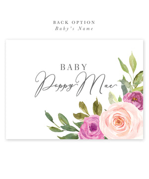 Poppy: Floral Baby Shower