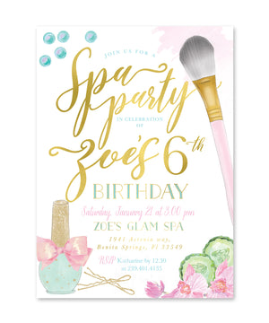 Spa Party: Girl's Birthday Party