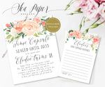 Elodie Time Capsule Sign & Cards