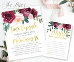 Odette Time Capsule Sign & Cards {Gold}