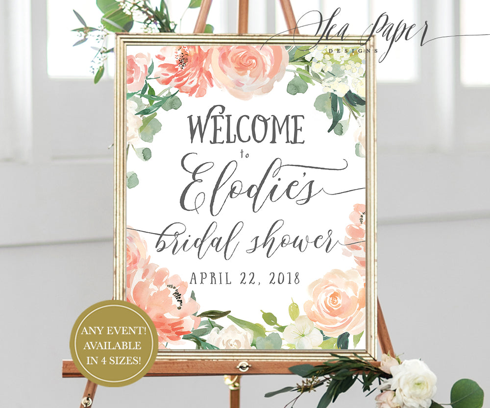 Elodie: Welcome Sign