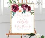 Odette: Welcome Sign {Pink}