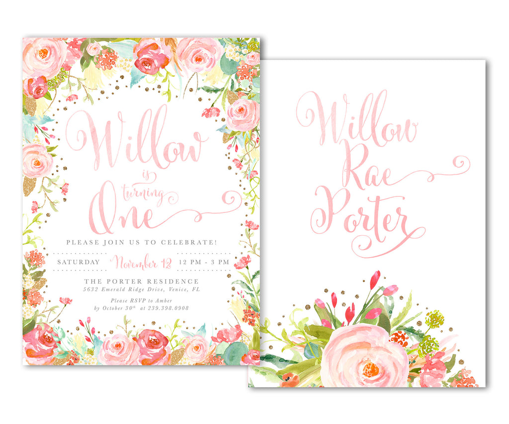 Willow: Birthday Invitation