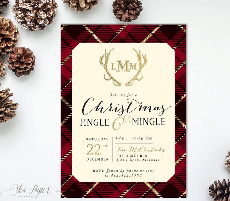 All Holiday & Winter Invitations - Sea Paper Designs