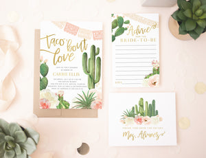 Taco 'Bout Love: Bridal Shower Invitation