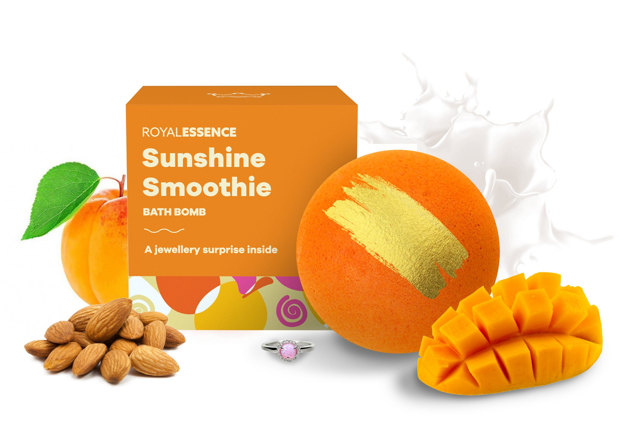 Sunshine Smoothie (Bath Bomb)