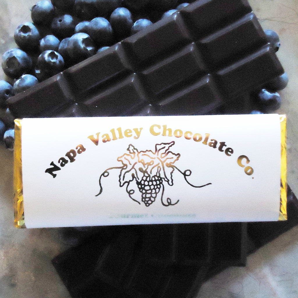 Blueberry Chocolate Bars