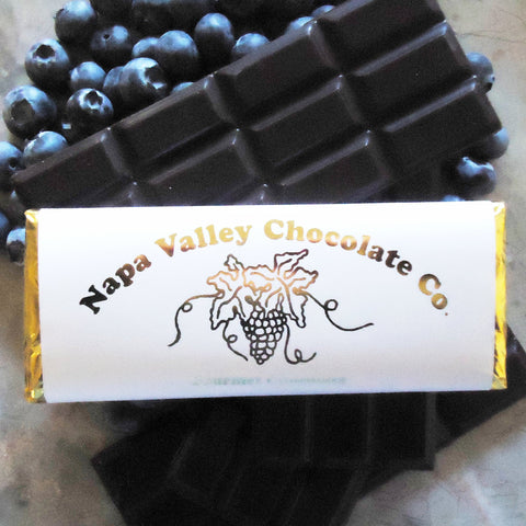 BLueberry Chocolate Bar, Gourmet Chocolate Bar, Chocolate Candy Bar