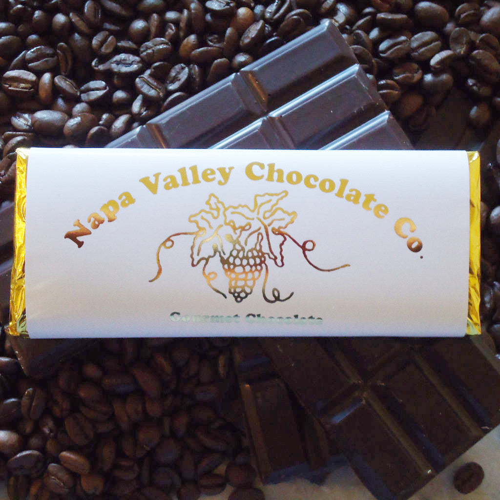 Espresso Bean Chocolate Bar, Gourmet Chocolate Bar, Premium Chocolate Bar, Chocolate Candy Bar