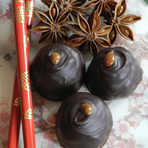 Star Anise Chocolate Truffles