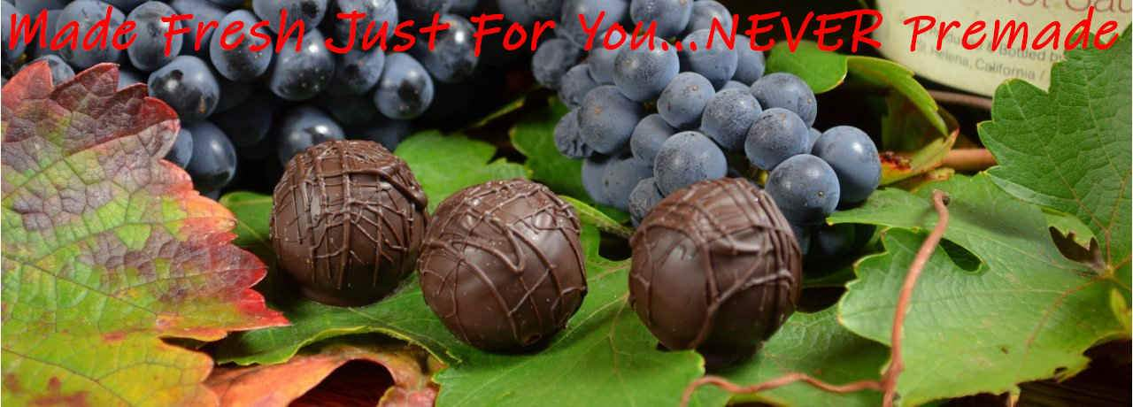 Wine Cellare Chocolate Truffles