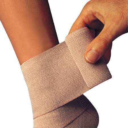 Elastic Bandage Comprilan Cotton 3 InX 5-1/2 Yard Nonsterile 01027000 Box Of 1