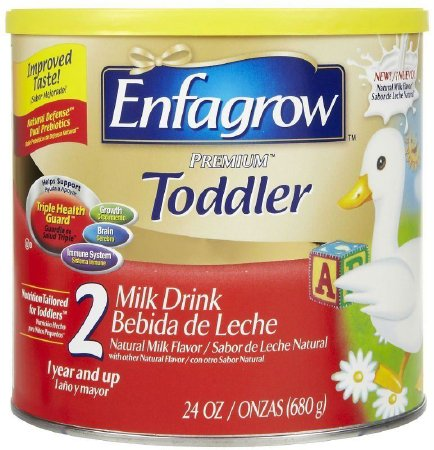 Enfagrow Toddler Transitions Soy Formula Powder, 20 Ounce Can