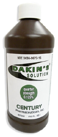 Dakins Solution 0.125%, 16 oz by Dakins