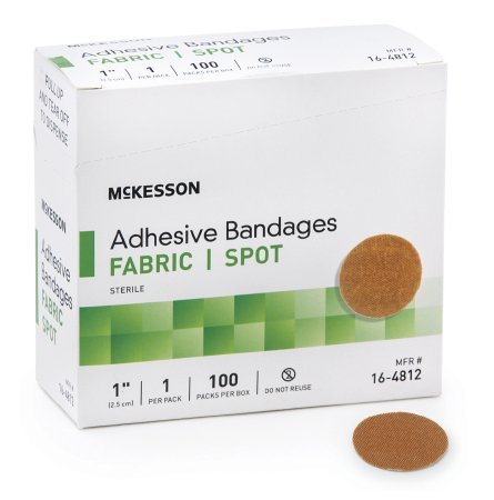 "McKesson Medi Pak Performance Bandage 1""round 2 Boxes Of 100 count (2)"