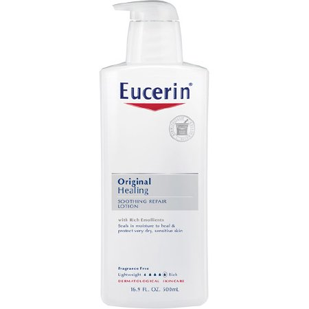 MCKESSON Moisturizer Eucerin 16 oz. Pump Bottle (#1667344, Sold Per Piece)