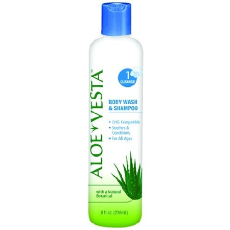Aloe Vesta 2-n-1 Body Wash & Shampoo - 8 Oz Bottle - Each