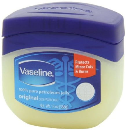 Vaseline Plastic Jar 13Oz (Sold per PIECE)