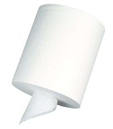 Center-Pull Perforated Paper Towels, 7 4/5 x 15, White, 320/Roll, 6 Rolls/CT