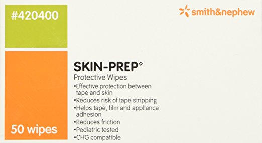 SKIN-PREP Protective Barrier Wipe by Smith & Nephew ( WIPE, PROTECTANT, SKIN, PREP, BARRIER ) 50 Each / box
