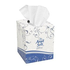 Angel Soft 46560 Ultra Premium Facial Tissue, White, 7.6 in. x 8.5 in. (CS)
