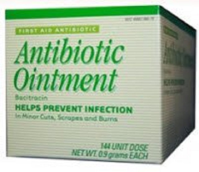 Perrigo Company - First Aid Antibiotic - 0.9 Gram - Ointment - Individual Packet - 144/Box