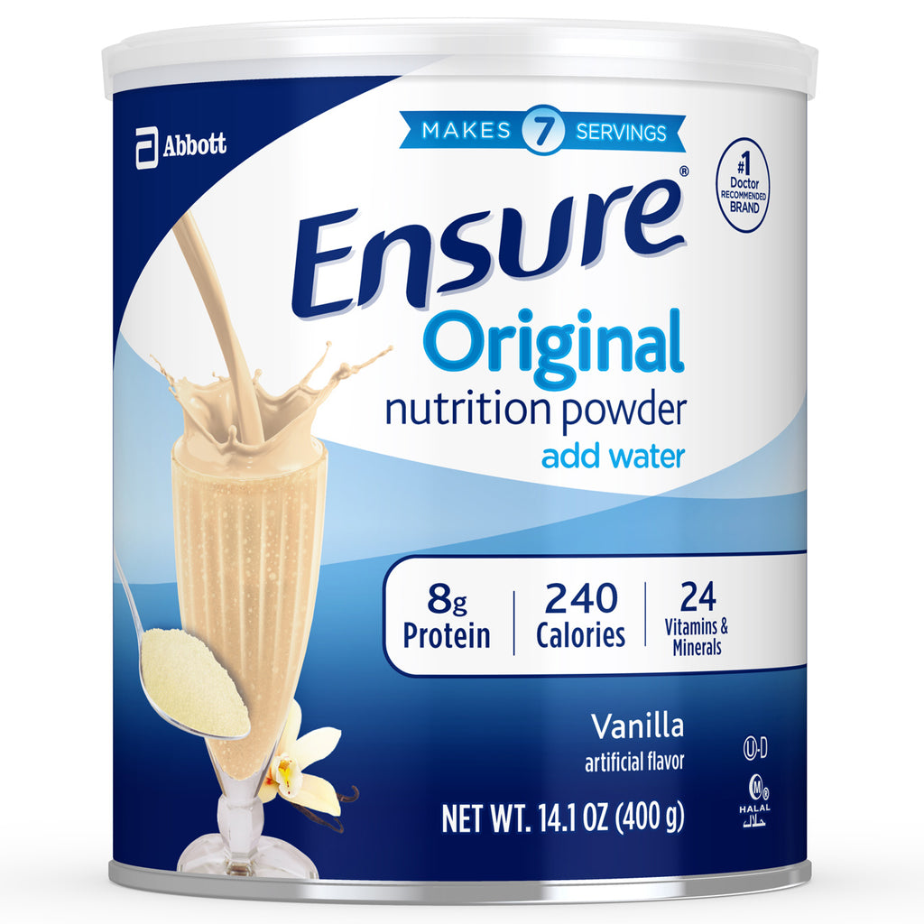 5 Pack Ensure Original Nutrition Powder Supplement Vanilla 14oz Each