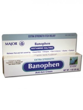 Itch Relief Banophen 2% / 0.1% Cream 30 Gram