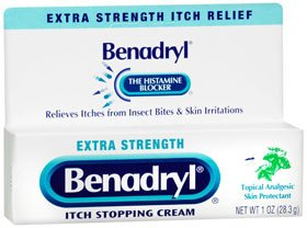 Benadryl - Itch Relief - 2% / 0.1% Original Strength Cream - 1 Each - 1 oz. Tube - McK