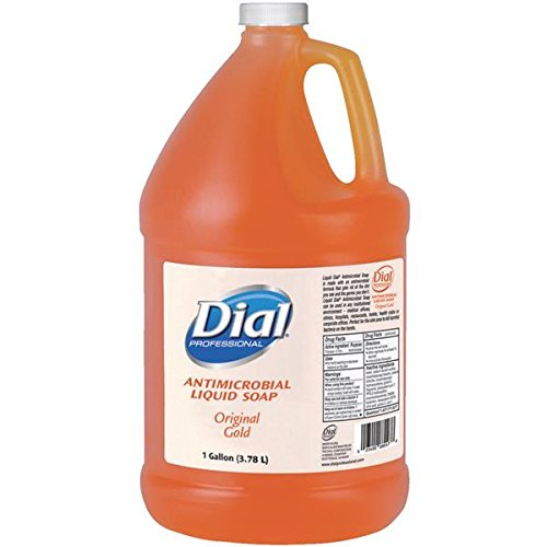 Dial Liquid Gallon Size Hand Soap - 1 gal (3.8 L) - Hand - Antimicrobial, Anti-bacterial - 4 / Cart