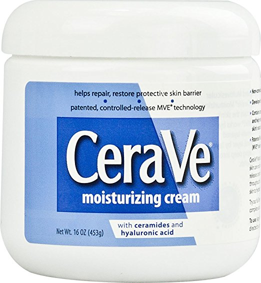 CeraVe Moisturizing Cream, 16 Ounce (Pack of 2)